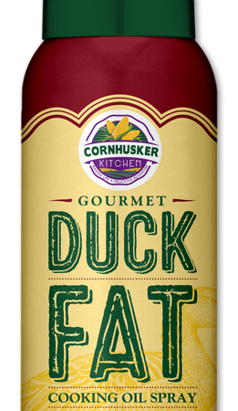 Cornhusker Kitchen Gourmet Duck Fat Cooking Oil Spray