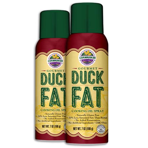 Cornhusker Kitchen Gourmet Duck Fat Cooking Oil Spray