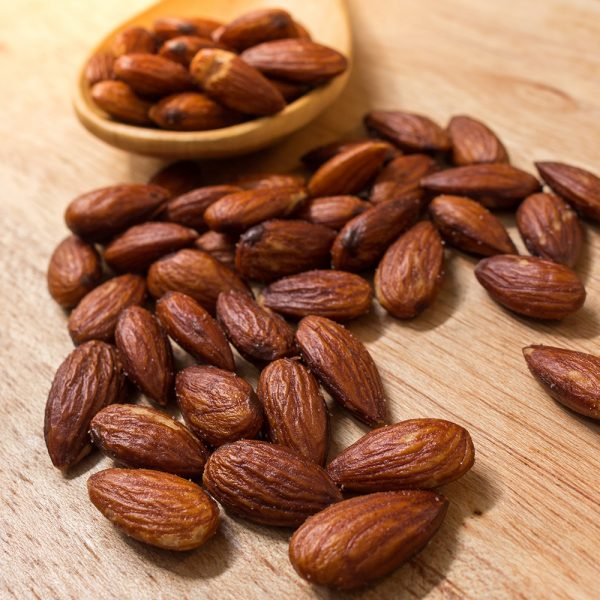 Duck Fat Roasted Almonds with Rosemary